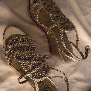 Via Neroli sandals, worn once